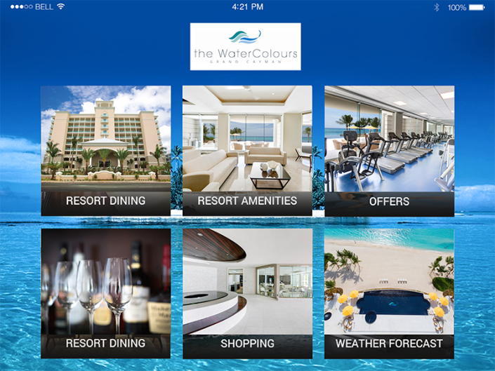 Resort Amenities App