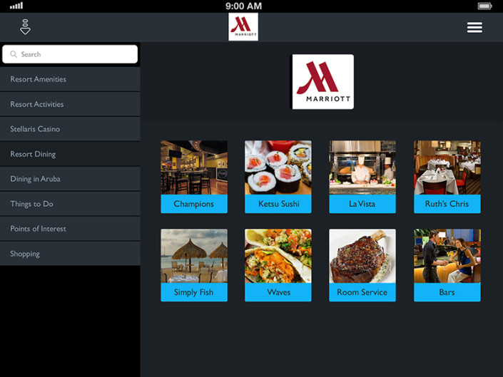 Mobile App for Hotel Restaurant