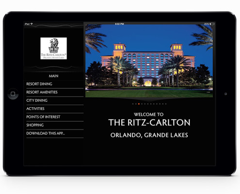 Mobile App for Resorts